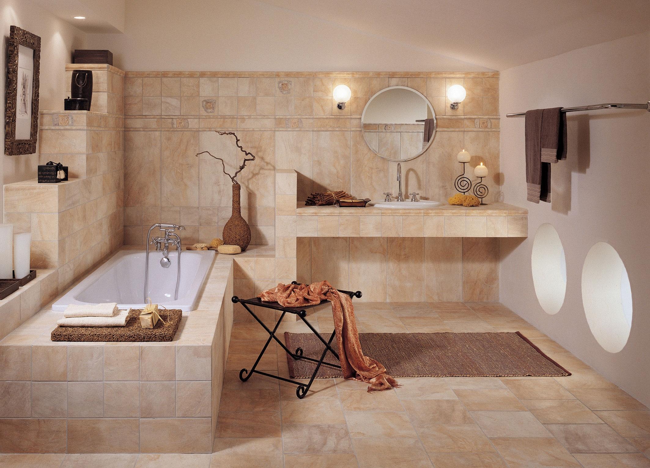 Оригинальные стили интерьера ванной
