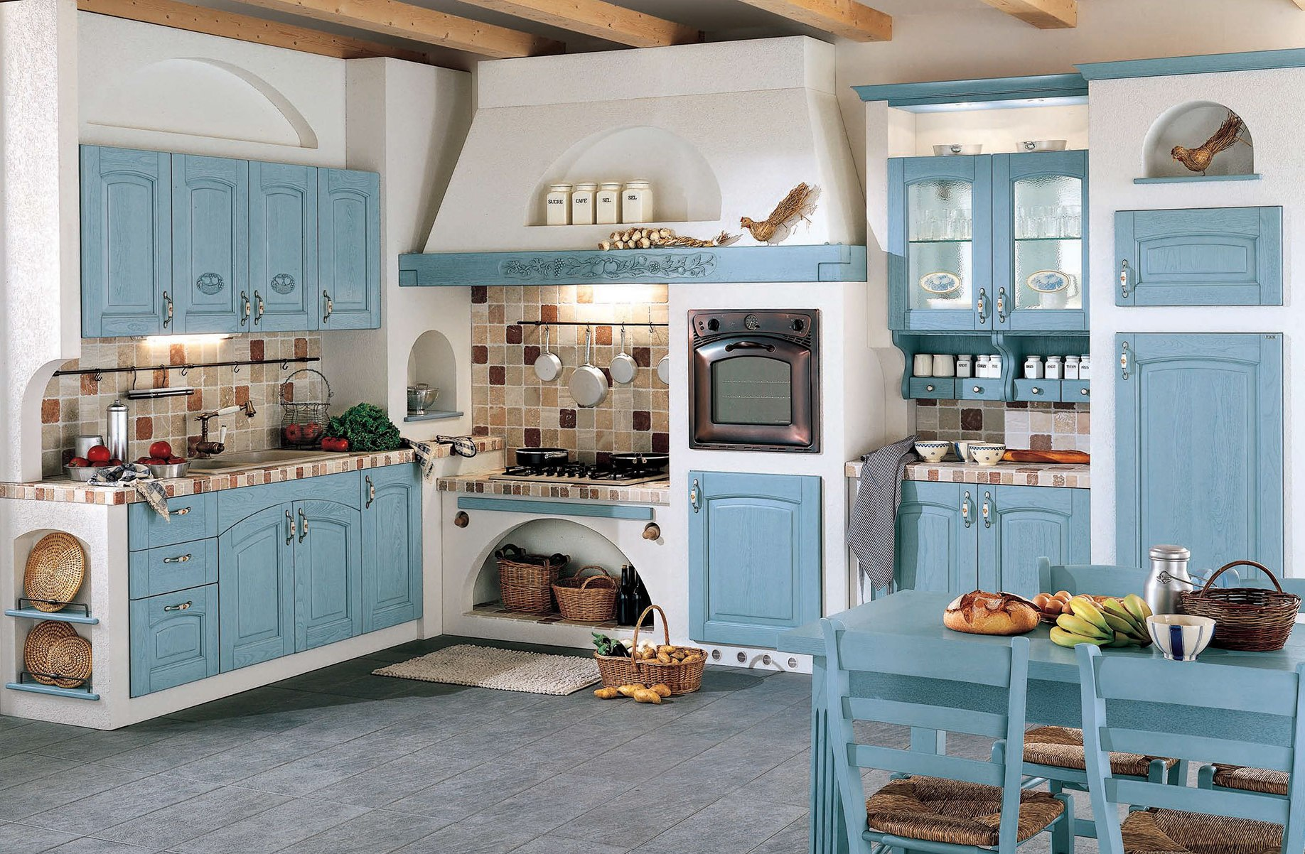 Как оформить кухню в стиле Прованс