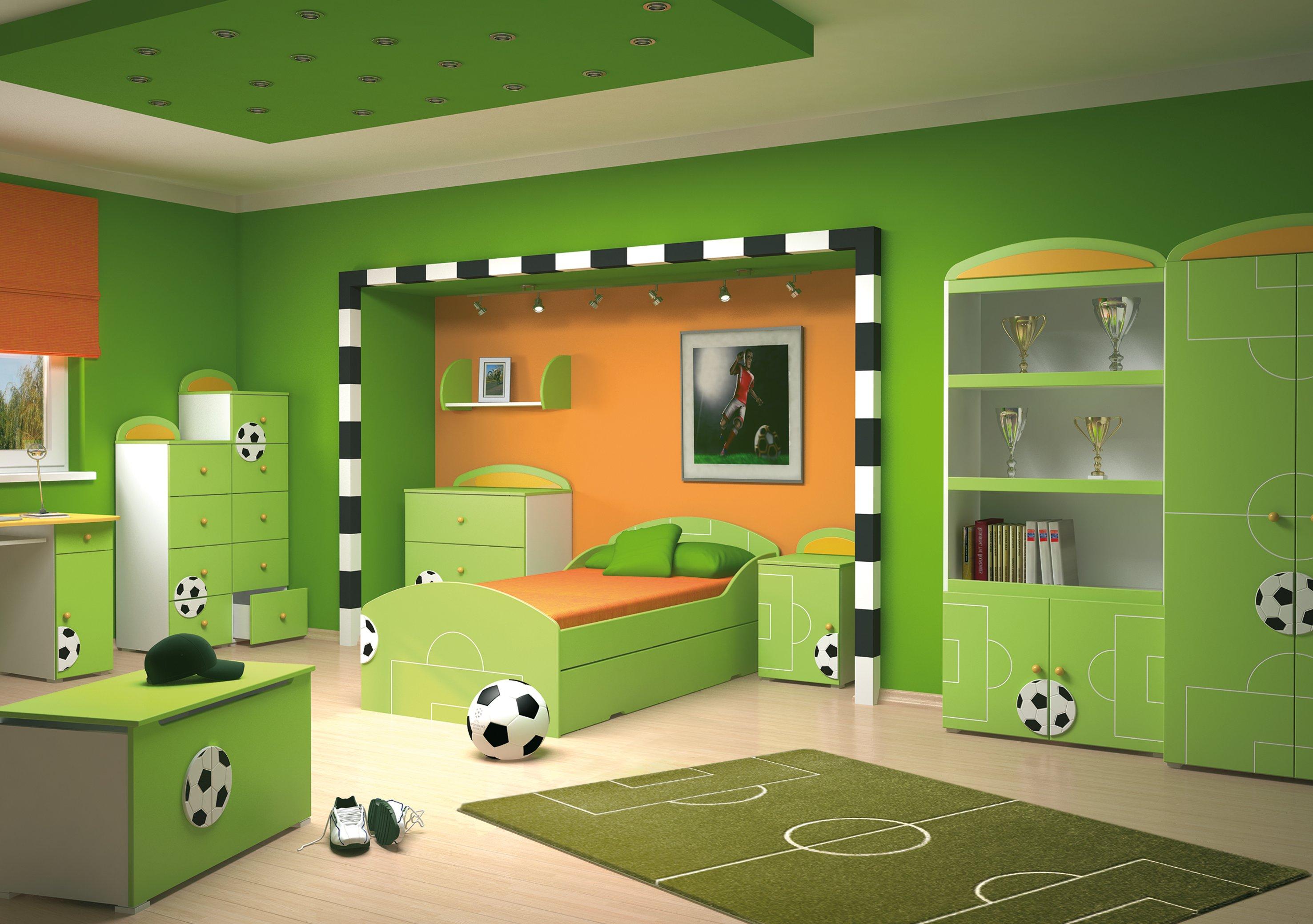 Как выбрать цвет для детской комнаты
