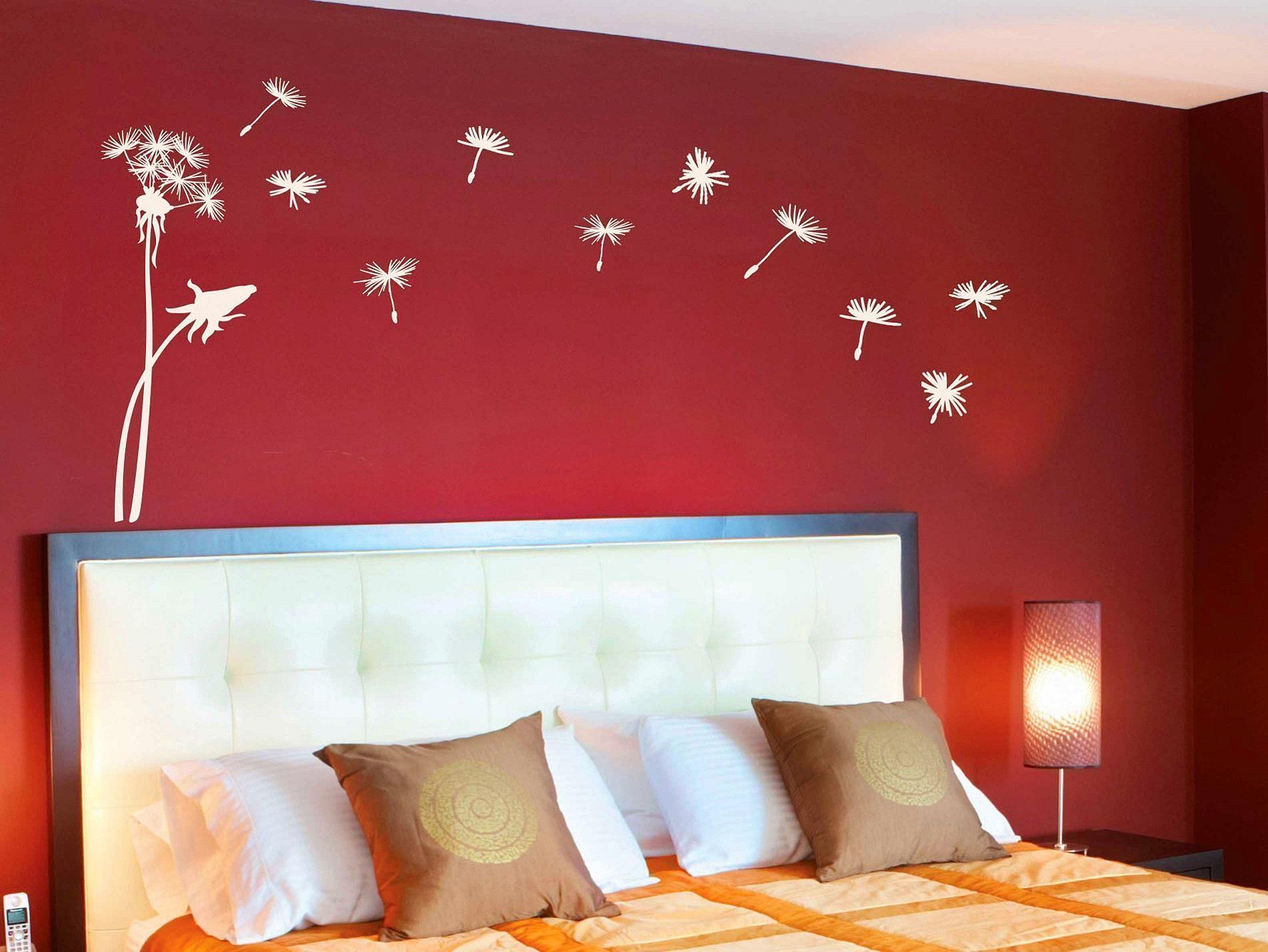 Декорирование стен рисунками