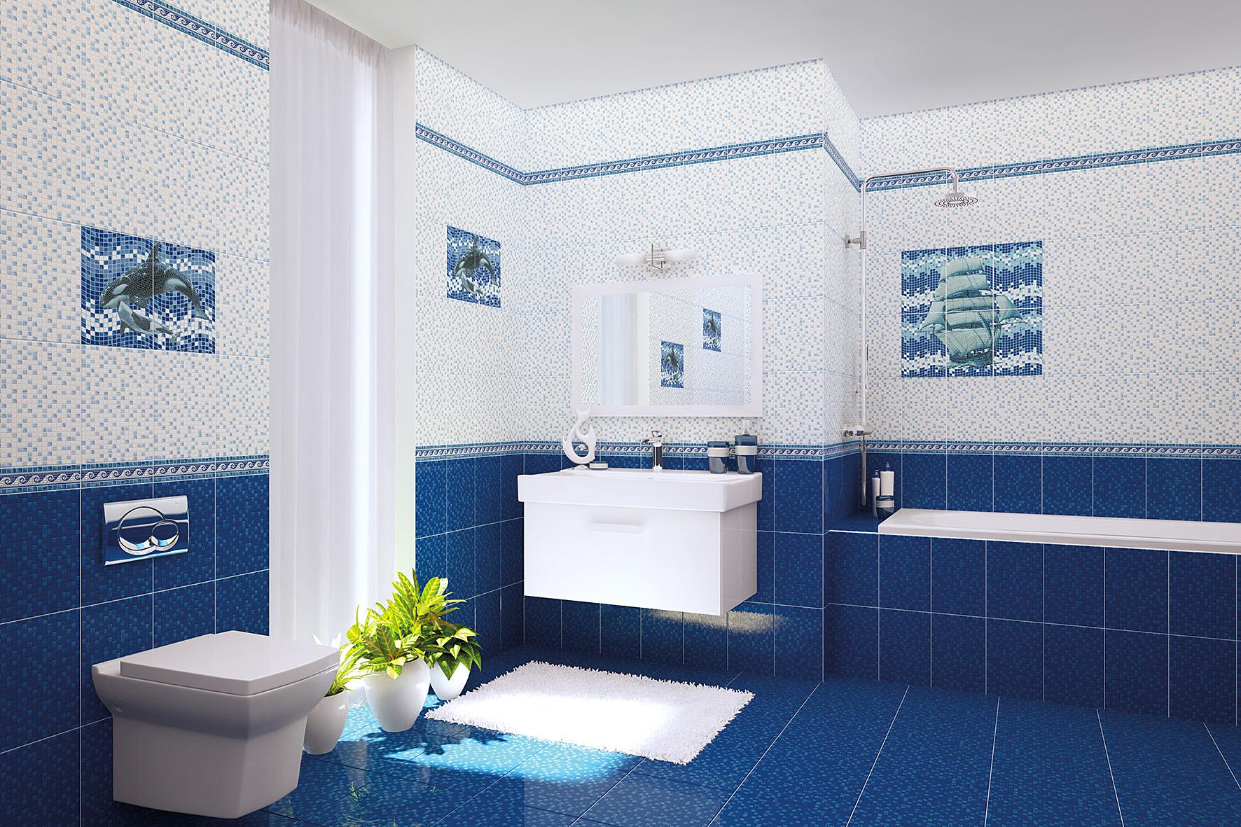 Как выбрать напольную плитку в ванную?