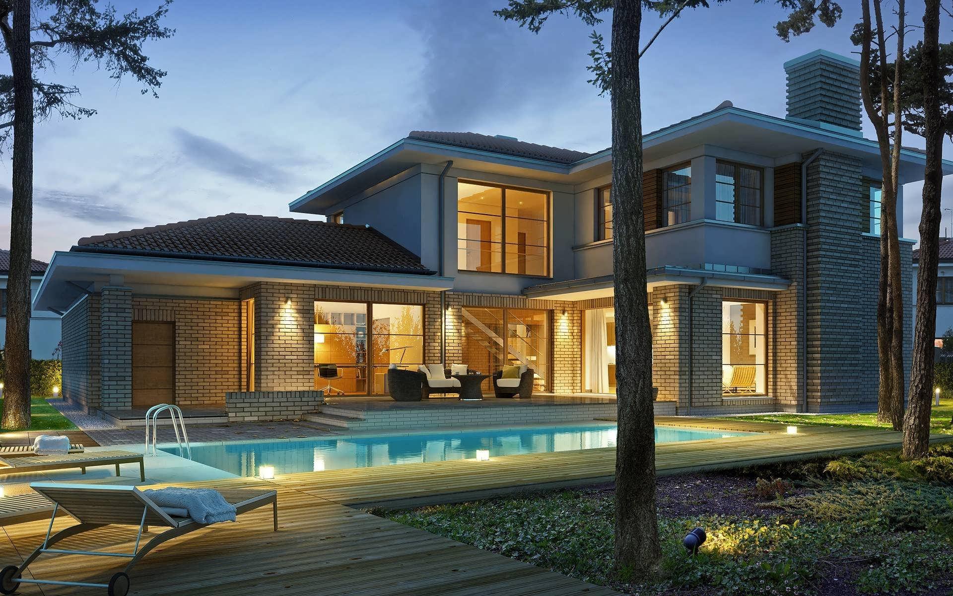 Из чего лучше строить загородный дом для постоянного проживания?