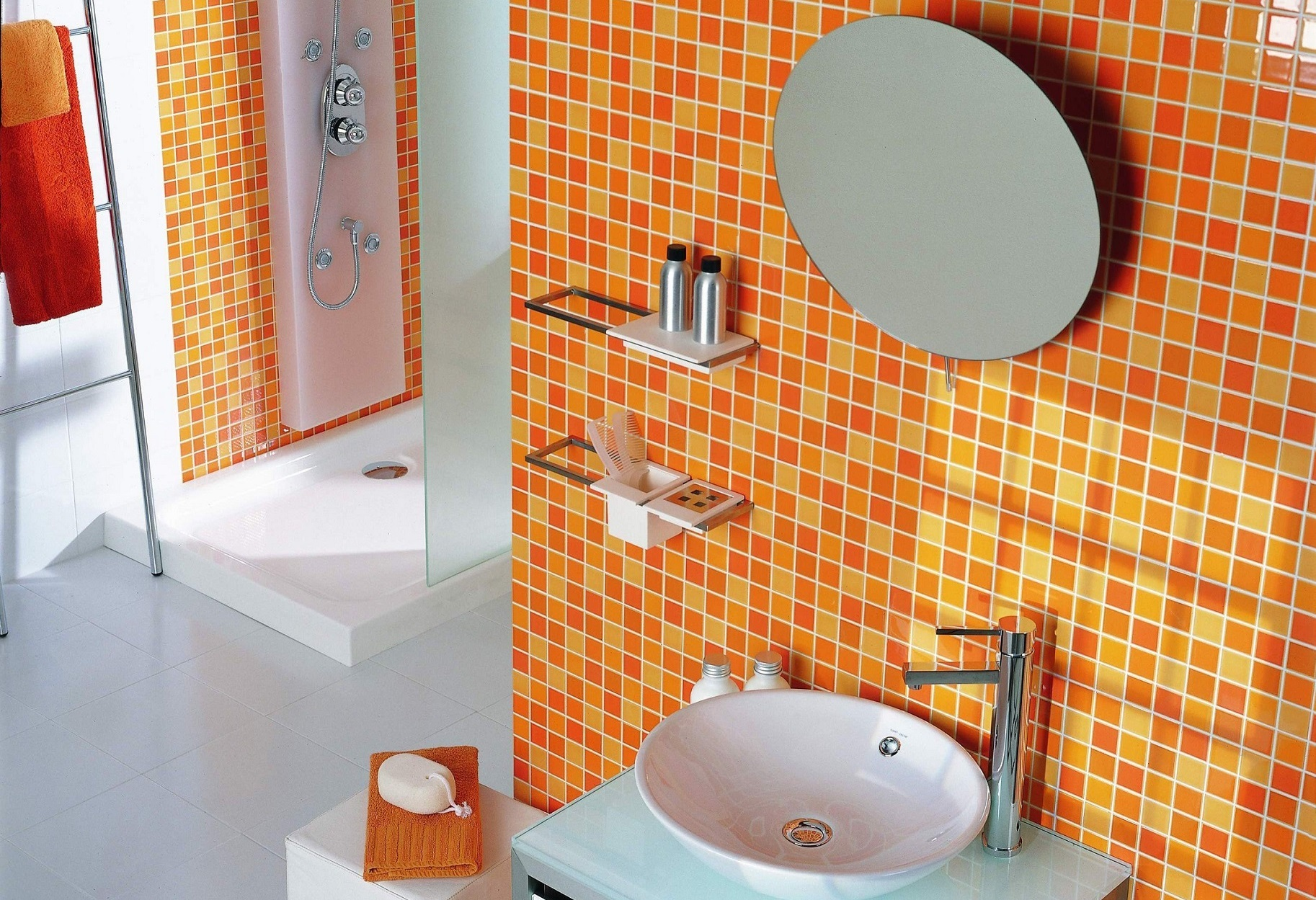 Как выбрать керамическую плитку для ванной комнаты?