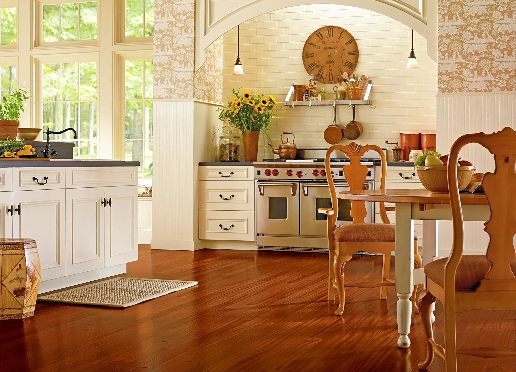 Какой линолеум выбрать на кухню?